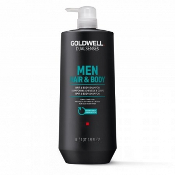 Goldwell DLS Men Hair&Body Szampon 1000ml