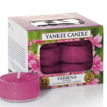 Yankee Candle Tea Light 12 pcs Verbena