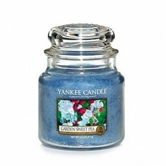 Yankee Candle Small Jar  Garden Sweet Pea 104g