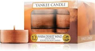 Yankee Candle Tea Light 12 pcs Warm Desert Wind