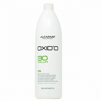 Alfaparf Oxi'O H202 Free From 30Vol 1000ml 9%