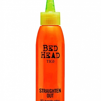 TIGI BED HEAD STRAIGHTEN OUT 120ml  DOSKONAŁY KREM DO PROSTOWANIA WŁOSÓW