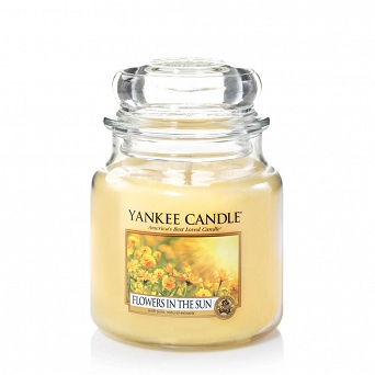 Yankee Candle Small Jar Flowers In The Sun 104g