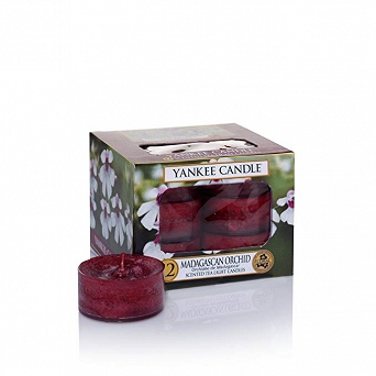 Yankee Candle Tea Light 12 pcs Madagascan Orchid