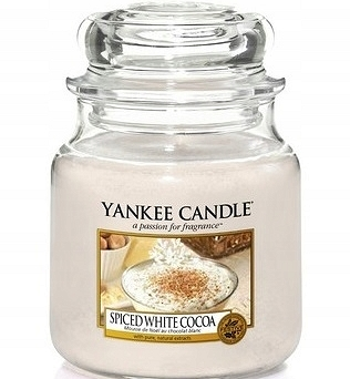 Yankee Candle Small Jar  Spice White Cocoa  104g