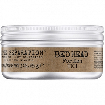 TIGI BED HEAD FOR MEN MATTE SEPARATION WORKABLE WAX 85g  WOSK DO UKŁADANIA WŁOSÓW