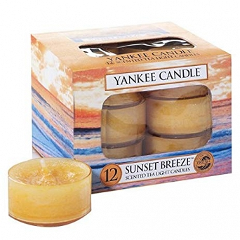 Yankee Candle Tea Light 12 pcs Sunset Breeze
