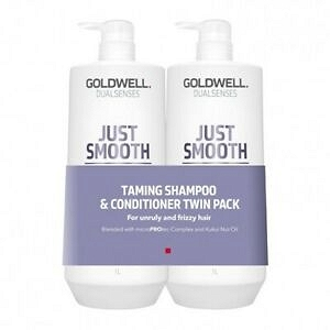 Goldwell DLS Just Smooth Szamp.+Odż. DUO 2x1000ml