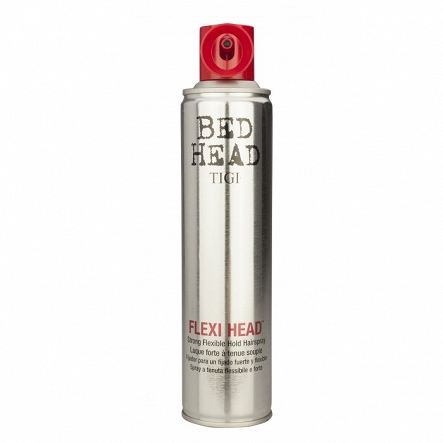 TIGI BED HEAD FLEXI HEAD SPRAY 385ml  ŚWIETNY LAKIER DO WŁOSÓW