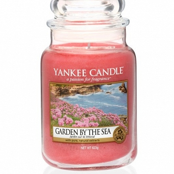 Yankee Candle Garden By The Sea Słoik Duży 623g