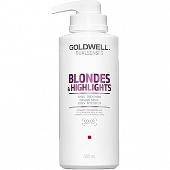 GOLDWELL  BLONDES&HIGHLIGHTS BALSAM 60SEC 500ml
