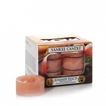 Yankee Candle Tea Light 12 pcs Summer Peach