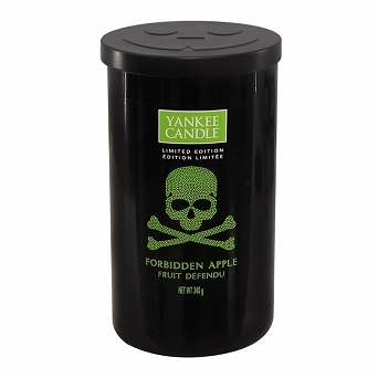 Yankee Candle Halloween Forbidden Apple Medium Pillar Candle