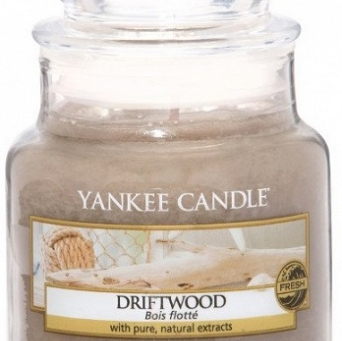 Yankee Candle Small Jar Driftwood 104g