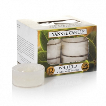 Yankee Candle Tea Light 12 pcs WhiteTea