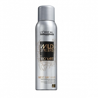 LOREAL WILD STYLERS NEX DAY HAIR SPRAY 250ml  EFEKT POTARGANYCH WŁOSÓW