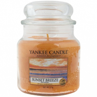 Yankee Candle Sunset Breeze  Słoik Średni 411g