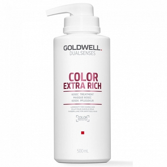 GOLDWELL  COLOR EXTRA RICH 60sec TREATMENT 500ml