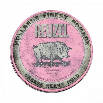 Reuzel Pink Grease Hold Pomade 113g