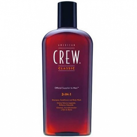 American Crew Szampon 250ml 3in1