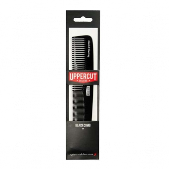 Uppercut Deluxe Cutting Comb BB3 Black Grzebień
