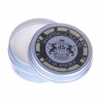 Dear Barber Travel Tin Shaping Cream 20ml